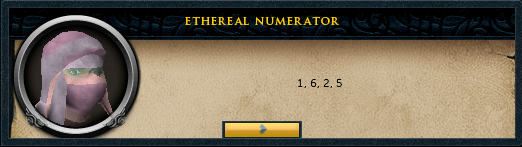 Ethereal Numerator
