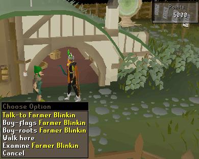 Farmer blinkin