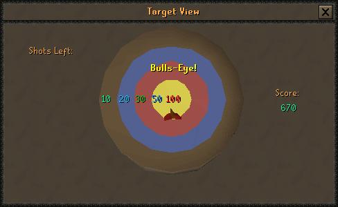 Target View: Bulls-eye!