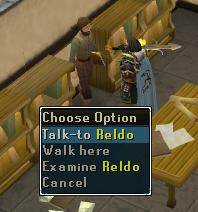 Talk to Reldo