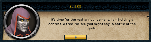 Sliske's real announcement