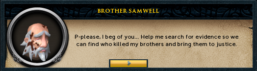 Brother Samwell asks for your help