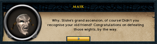 Invitation to Sliske's grand ascension