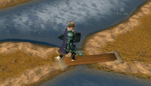 Crosing the plank