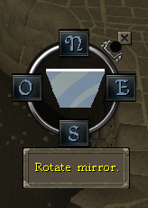 Rotate the mirror