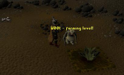 W00t - farming level!