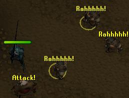 Fighting hammerspike's gang of dwarves