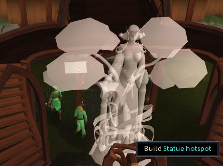 Statue Hotspot