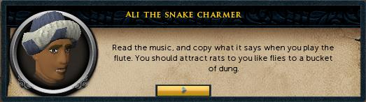 Ali the snake charmer