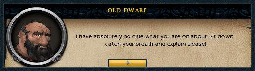 An old Dwarf
