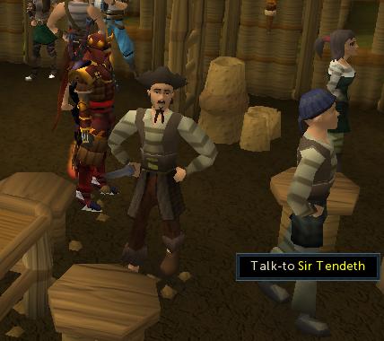 Talk to Sir Tendeth
