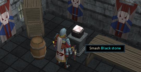 Smash Black Stone