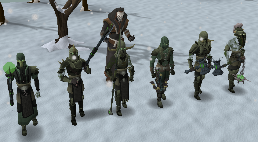 Sliske and the Barrows brothers