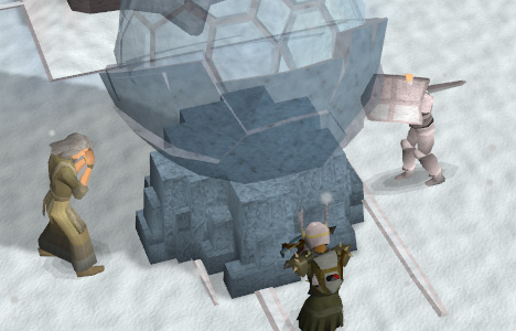 Teleporting the Stone of Jas to a secret location