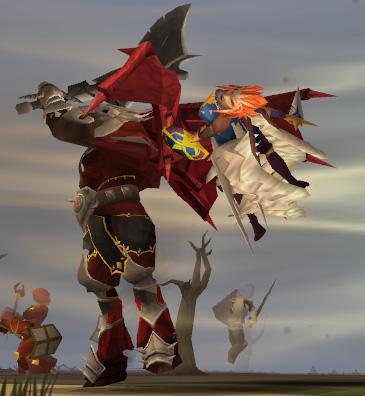 Commander Zilyana being defeated