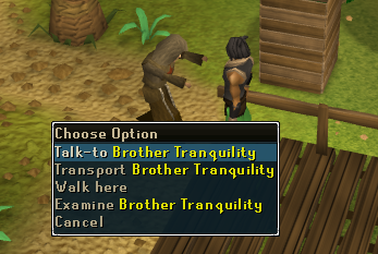 Talk to Brother Tranquility