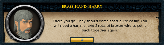 Brass hand harry: There you go. They should come apart quite easily.