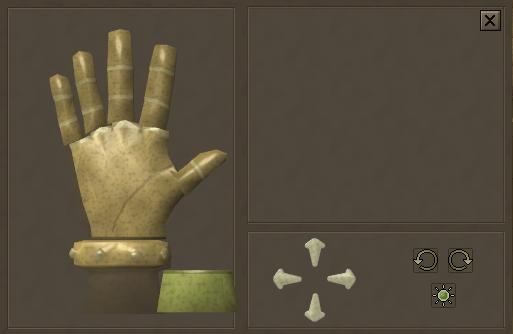 Hand screen
