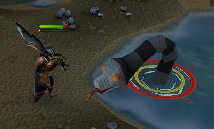 Giant Sea Snake
