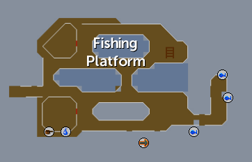 Fishing Platform map