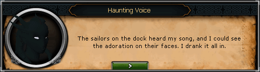 Song From the Depths - Haunting Voice: The sailors on the dock heard my song, and I could see the adoration on their faces.