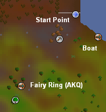 Location of the fairy ring