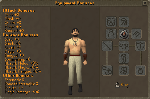 Drakan's Medallion equipment bonuses