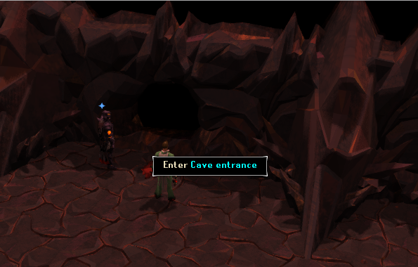 The Cave Entrance