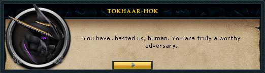 TokHaar-Hot Admits Defeat