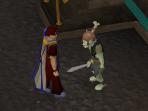 Talk to Captain Undak