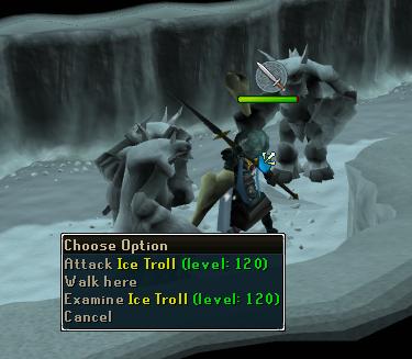 An Ice Troll