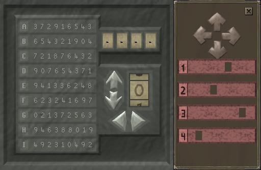 Operate the keypad