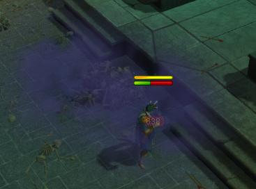 Purple Gas Attack