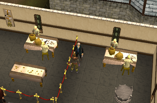 The Varrock Meuseum curator