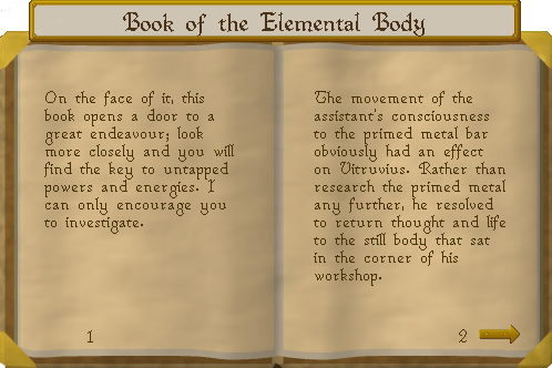Book of the Elemental Body