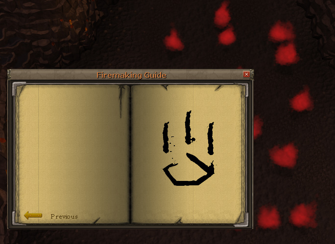 Check the Firemaking Guide for a hint