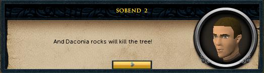 <You>: And Daconia rocks will kill the tree!