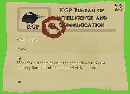 KGP Bereau of Intelligence and Communication