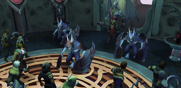 Drakan and his Venators.