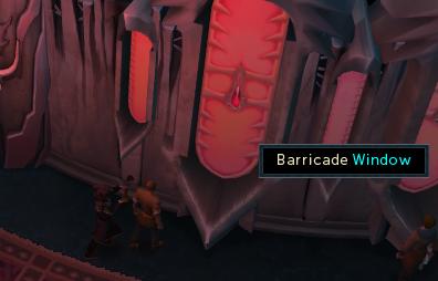 Barricade the windows.