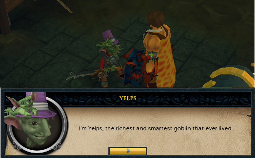 Yelps, the most hated goblin that ever lived