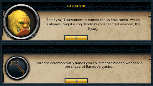The final round must be fought with the Kyzaj