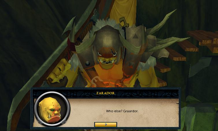 You must fight Graardor