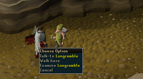 Talk to longramble