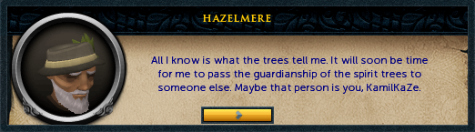 Hazelmere: All I know is what the trees tell me