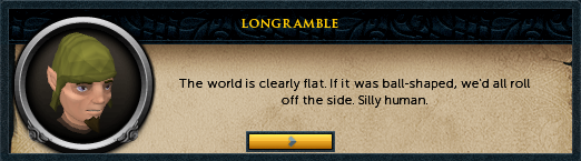 Longramble: The world is clearly flat