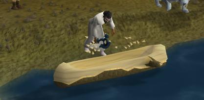 Build a canoe