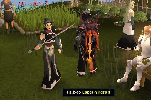 Talk to Captain Korasi