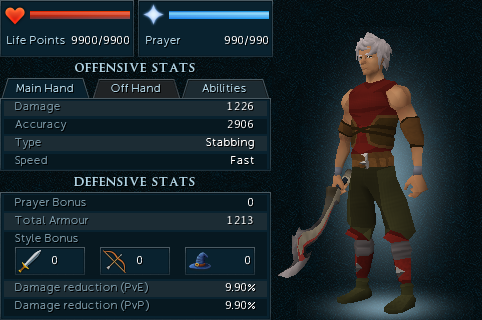Korasi's Sword equipment stats