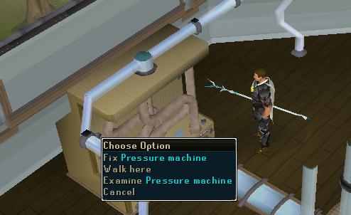 Fix pressure machine